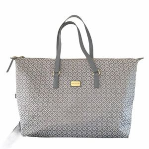 Tommy Hilfiger Large Purse Bag Gray Carry-On 23x15